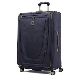 Travelpro Luggage Crew 11 29″ Expandable Spinner Suitcase with Suiter, Patriot Blue