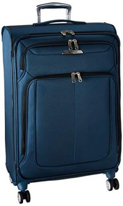 Samsonite Checked-Medium, Mediterranean Blue