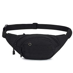 DAITET Fanny Pack for Men, Women, Kids,Outdoors, Workout Waist Bag Adjustable Belt, Waterproof T ...