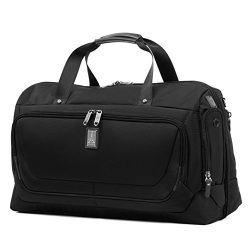 Travelpro Luggage Crew 11 22″ Carry-on Smart Duffel with Suiter w/USB Port, Black