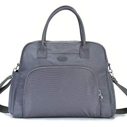 Lily & Drew Carry On Weekender Overnight Travel Shoulder Bag for 15.6 Inch Laptop Computers  ...