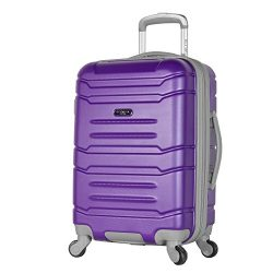 Olympia Denmark 21″ Carry-on Spinner, Purple