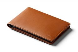 Bellroy Leather Travel Wallet Caramel – RFID