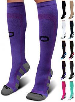 Crucial Compression Socks for Men & Women (20-30mmHg) – Best Graduated Stockings for R ...