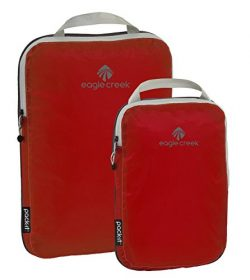 Eagle Creek Pck-it Spctr Cmpressn Cube St-2pc St (S, M), Volcano Red