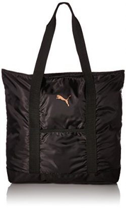 PUMA Women's Evercat Cambridge Tote, black/gold, OS