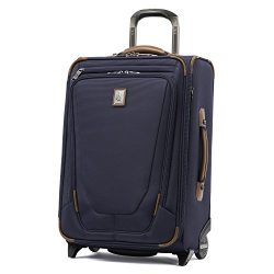 Travelpro Luggage Crew 11 22″ Carry-on Expandable Rollaboard w/Suiter and USB Port, Patrio ...