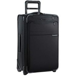 Briggs & Riley Baseline 22 inch Softside Carry On Luggage with wheels 22 x 14 x 9. Expandabl ...