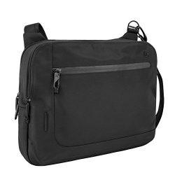 Travelon Men's Anti-Theft Urban E/w Tablet Messenger, Black