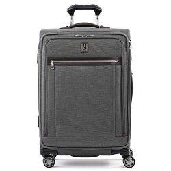 Travelpro Luggage Checked Medium, Vintage Grey