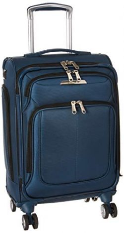 Samsonite SoLyte DLX Softside Luggage, Mediterranean Blue, Carry-On