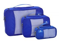Eagle Creek Travel Gear Luggage Pack It, Blue Sea 3 Pack