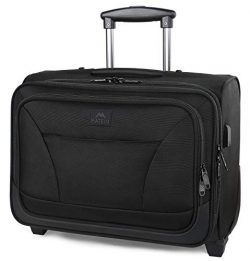 Rolling Laptop Bag, MATEIN Overnight Wheeled Briefcase for Business Travel,Fits 17 inch Notebook ...