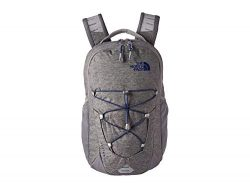The North Face Jester Backpack, Zinc Grey Light Heather/Flag Blue