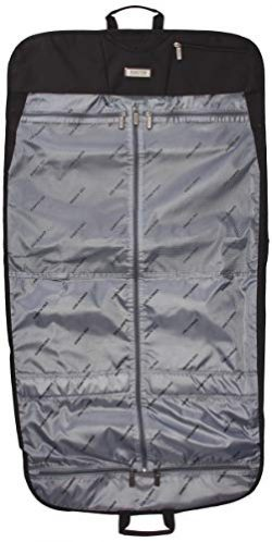 Kenneth Cole Reaction Folding Travel Garment Sleeve, Black