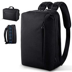 Beschoi Convertible Backpack Laptop Shoulder Bag Messenger Bag Multi-Functional Business Briefca ...