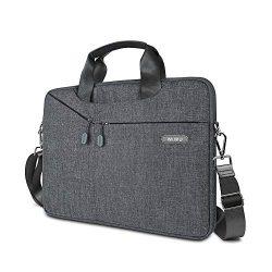 15.6 Inch Laptop Bag,Slim Shoulder Bag for Men&Women,laptop sleeve Case with Strap and Handl ...