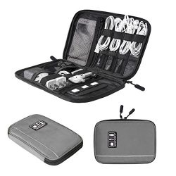 BAGSMART Electronic Organizer Travel Universal Cable Organizer Electronics Accessories Cases for ...
