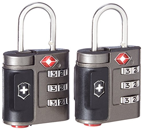 Victorinox Travel Sentry Approved Combination Lock Set, Grey