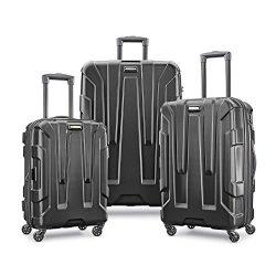 Samsonite Centric Hardside Luggage, Black, 3-Piece Set
