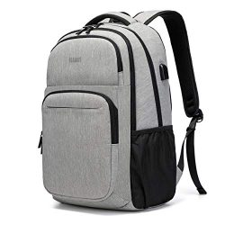Travel Laptop Backpack, Business College School Bookbag,Slim Water Resistent for Women & Men ...