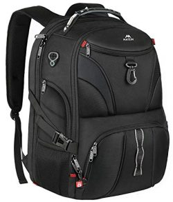 Matein Anti Theft Travel Backpack, Large School Laptop Backpack for Men Women with USB Port, TSA ...