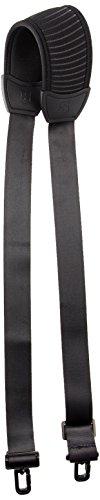 Victorinox Comfort Fit Shoulder Strap, Black/Black Logo