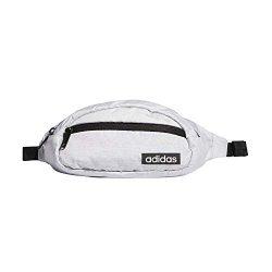 adidas Unisex Core Waist Pack, White Jersey/Black, ONE SIZE