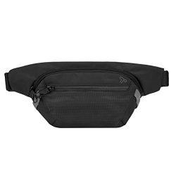 Travelon Anti-Theft Active Waist Pack, Black