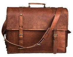 Leather Messenger Bag| Leather Briefcase Bag| Leather Satchel Bag| Leather Crossbody Bag| Leathe ...