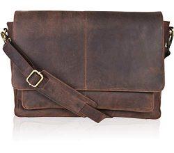 Clifton Heritage Briefcases for Men – Leather Satchel Laptop Mens Messenger Bag