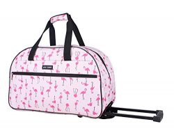 Betsey Johnson Designer Carry On Luggage Collection – Lightweight Pattern 22 Inch Duffel B ...