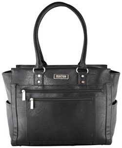 Kenneth Cole Reaction Top Zip Tote, Black