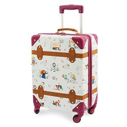 Disney Animators' Collection Rolling Luggage Multi