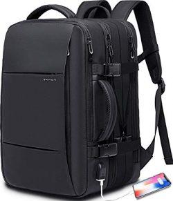 40L Travel Backpack,Flight Approved Carry On Backpack for International Travel Bag, Water Resist ...