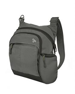 Travelon Anti-Theft Active Tour Bag, Charcoal