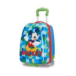 American Tourister Disney Kids Mickey Mouse Hardside Upright, 16 Inch.