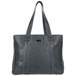 Kenneth Cole Reaction Women's Hit Pebbled Faux Leather Triple Compartment 15″ Laptop ...