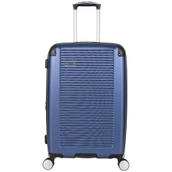 Ben Sherman Norwich 24″ Lightweight Hardside PET Expandable 8-Wheel Spinner Carry-On Suitc ...