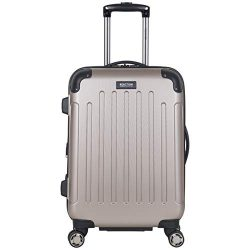 Kenneth Cole Reaction Renegade 20″ Carry-On Lightweight Hardside Expandable 8-Wheel Spinne ...