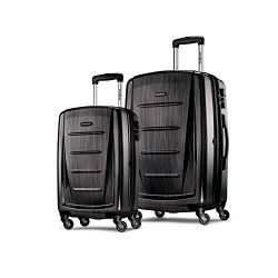Samsonite Winfield 2 Expandable Hardside 2-Piece Luggage Set (20/28) with Spinner Wheels, Brushe ...