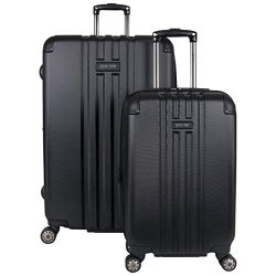 Kenneth Cole Reaction Reverb 2-Piece 20″, 29″ Luggage Set, Black,