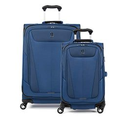 Travelpro Maxlite 5 Lightweight 2-piece Set(21″,25″) Expandable Softside Luggage Sap ...