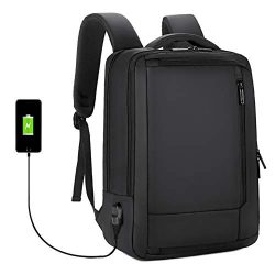 NEW VERSION Laptop Backpack Travel Business Backpack Briefcase Fit 17 inch Laptop, Water Resista ...