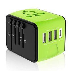 Travel Plug Adapter, Universal Travel Adapter, Travel Power Plug Adapter, International Power Ad ...