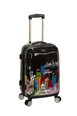 Rockland 20″ Polycarbonate Carry On, America