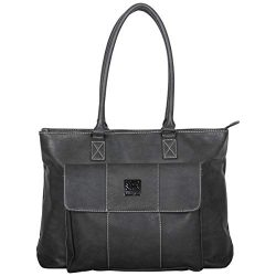Kenneth Cole Reaction Women's Casual Fling Pebbled Faux Leather Top Zip 16″ Laptop B ...