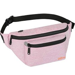 Fanny Packs for Men Women – Waist Bag Packs – Large Capacity Belt Bag for Travel Spo ...