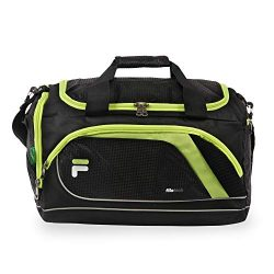 Fila Advantage 19″ Sport Duffel Bag, Black/Lime