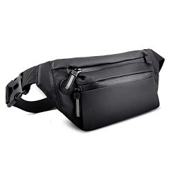 NIANYISO Fanny Pack, Fanny Packs for Women and Men Waterproof Fanny Pack Running Waist Bag Light ...